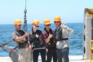 Day at Sea for Political Science, Marine Science and Sociology students.