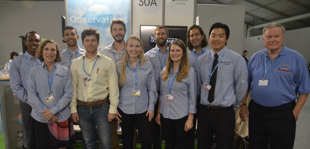 The SIO-CMBC team at COP22
